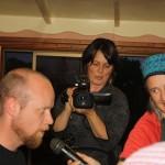 Videographer Hajni on the Platypus