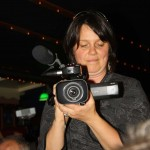 Action... Hajni and camera!