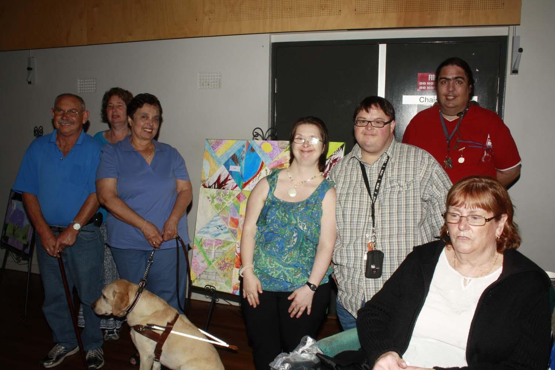 The No Boundaries Project visual arts group