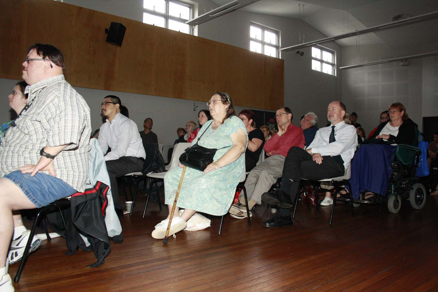 Audience at the event