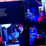 One of the sections from the No Boundaries Booklet, showing photographs from Light Rhythm Plays.